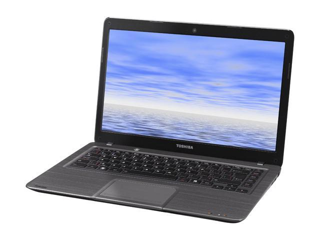 TOSHIBA Notebook Satellite U840-001-W Intel Core i5 3317U (1.70 GHz) 4 GB Memory 500 GB HDD 32 GB SSD AMD Radeon HD 7550M Windows 7 Home Premium 64-Bit