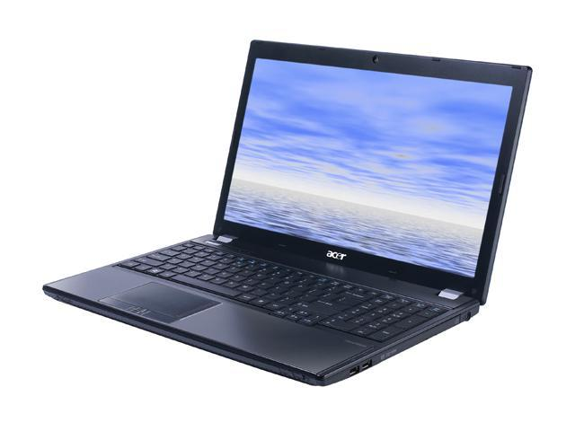 Acer Laptop TravelMate TM5760-6825 Intel Core i5 2430M (2.40 GHz) 4 GB Memory 750 GB HDD Intel HD Graphics 3000 15.6