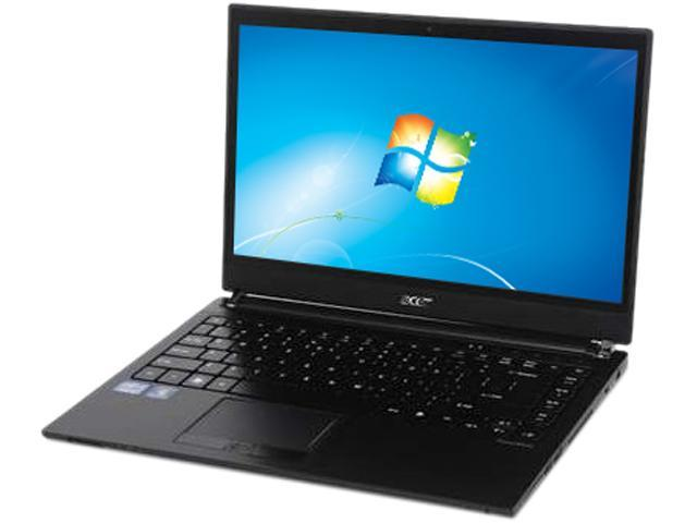 Acer Laptop TravelMate TimelineX TM8481T-6440 Intel Core i5 2557M (1.70 GHz) 4 GB Memory 320 GB HDD Intel HD Graphics 3000 14.0