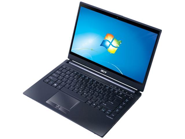 "Acer TravelMate Intel Core i7-2637M 1.7GHz 14.0"" Windows 7 Professional 64-Bit Notebook"