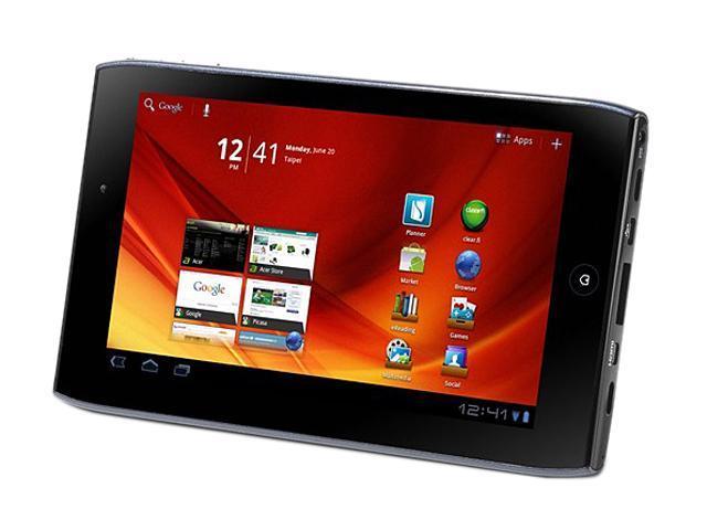 """Acer Iconia Tab A100-07u08u 8GB Internal Storage 7.0"""" Tablet PC"""