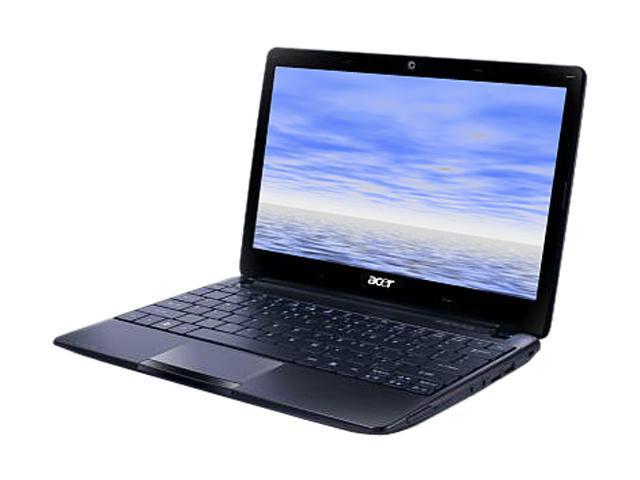 """Acer Aspire AO722-0427 Espresso Black 11.6"""" Netbook"""