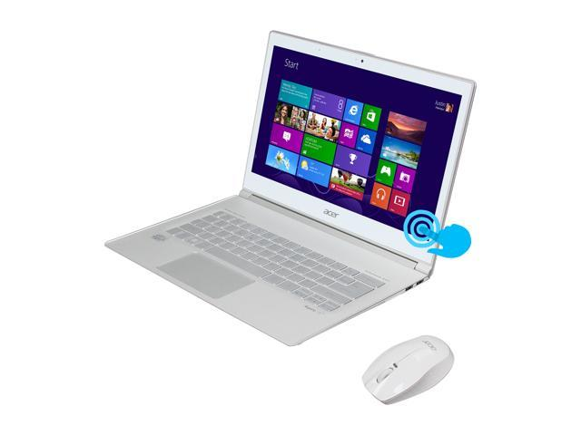 "Acer Aspire S7-391-6810 Intel Core i5 4 GB Memory 128 GB SSD 13.3"" Touchscreen Ultrabook Windows 8 64-Bit"