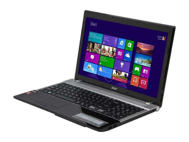 Acer Laptop Aspire V3-551-8469 AMD A8-Series A8-4500M (1.90 GHz) 4 GB Memory 500 GB HDD AMD Radeon HD 7640G 15.6