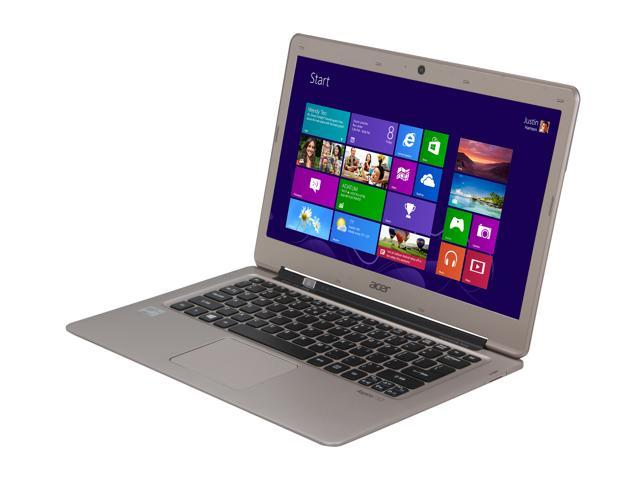 "Acer S3-391-9499 Intel Core i7 4 GB Memory 128 GB SSD 13.3"" Ultrabook Windows 8 64-Bit"