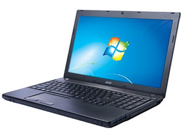 Acer Laptop TravelMate P TMP653-M-9889 Intel Core i7 3rd Gen 3632QM (2.20 GHz) 8 GB Memory 500 GB HDD Intel HD Graphics 4000 15.6