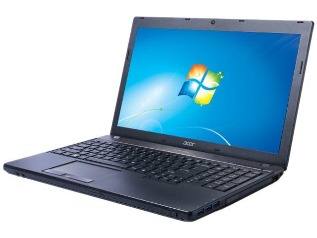"Acer TravelMate TMP653-M-6616 Intel Core i5-3210M 2.5GHz 15.6"" Windows 7 Pro 64-bit / 8 Pro 64-bit Dual Load Notebook"