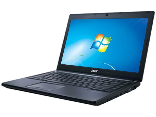 "Acer TravelMate P TMP633-M-9653 Intel Core i7-3632QM 2.2GHz 13.3"" Windows 7 Professional 64-Bit Notebook"