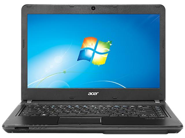 "Acer TravelMate TMP243-M-6807 Intel Core i3-3110M 2.4GHz 14.0"" Windows 7 Professional 64-Bit Notebook"