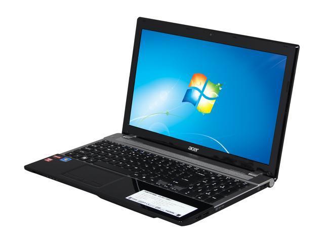 """Acer Laptop Aspire V3-551-8887 AMD A8-Series A8-4500M (1.90 GHz) 4 GB Memory 500 GB HDD AMD Radeon HD 7640G 15.6"""" Windows ..."""