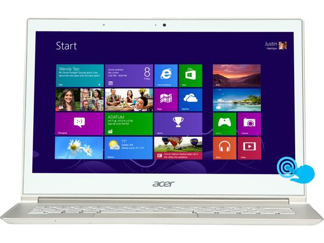 "Acer Aspire S7-391-9427 Intel Core i7 4 GB Memory 256 GB SSD 13.3"" Touchscreen Ultrabook Windows 8"