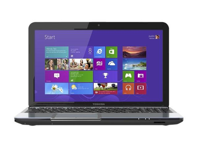 "TOSHIBA Laptop Satellite S875D-S7350 AMD A10-Series A10-4600M (2.30 GHz) 6 GB Memory 750 GB HDD AMD Radeon HD 7660G 17.3"" ..."