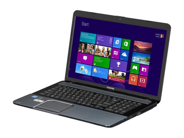 "TOSHIBA Laptop Satellite S875-S7370 Intel Core i7 3630QM (2.40 GHz) 8 GB Memory 750 GB HDD Intel HD Graphics 4000 17.3"" Windows ..."