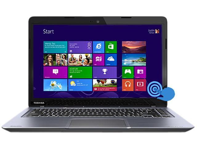 "TOSHIBA Satellite U845t-S4165 Intel Core i5 6 GB Memory 128 GB SSD 14"" Touchscreen Ultrabook Windows 8"