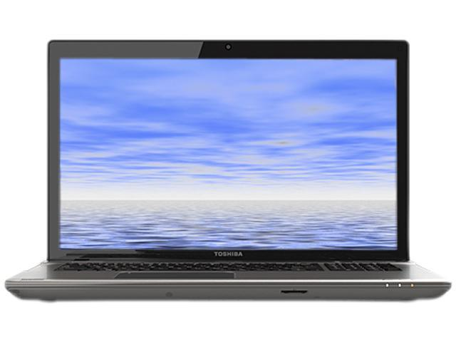 "TOSHIBA Laptop Satellite P875-S7310 Intel Core i7 3630QM (2.40 GHz) 8 GB Memory 750 GB HDD Intel HD Graphics 4000 17.3"" Windows ..."