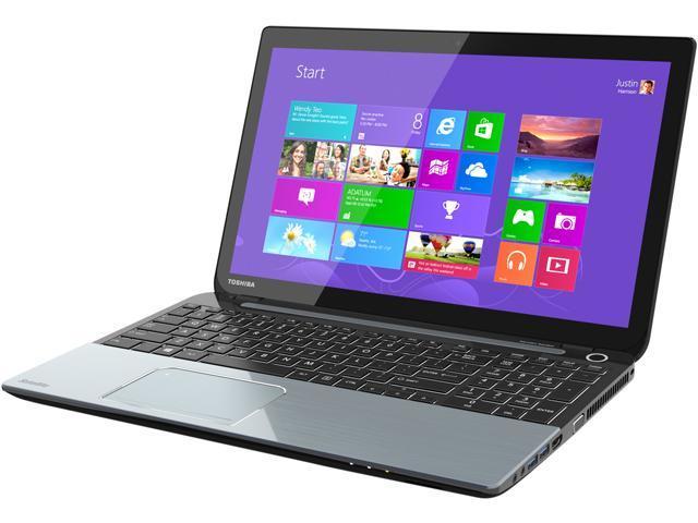 TOSHIBA Laptop S50t (PSKK6C-00V007) Intel Core i7 4700MQ (2.40 GHz) 8 GB Memory 1 TB HDD NVIDIA GeForce GT 730M 15.6