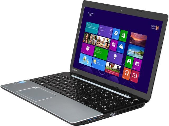 TOSHIBA S55-A5358 Notebook Intel Core i7 4700MQ (2.40GHz) 8GB Memory 1TB HDD Intel HD Graphics 4600 15.6