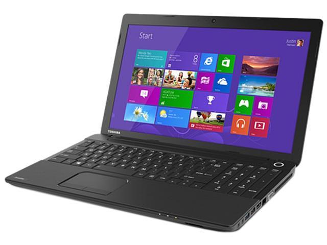 TOSHIBA Laptop Satellite C55D-A5346 AMD A4-Series A4-5000 (1.50 GHz) 4 GB Memory 750 GB HDD AMD Radeon HD 8330 15.6