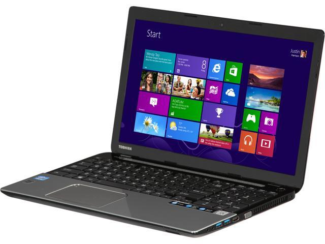 TOSHIBA Laptop L55-A5226 Intel Core i5 3337U (1.80 GHz) 6 GB Memory 500 GB HDD Intel HD Graphics 4000 15.6