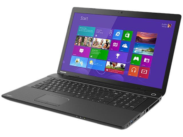 TOSHIBA Laptop Satellite C75-A7390 Intel Core i3 3120M (2.50 GHz) 6 GB Memory 750 GB HDD Intel HD Graphics 4000 17.3