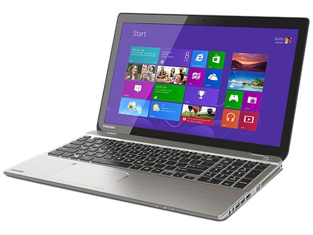 TOSHIBA Laptop P55-A5200B Intel Core i5 3337U (1.80 GHz) 6 GB Memory 750 GB HDD Intel HD Graphics 4000 15.6