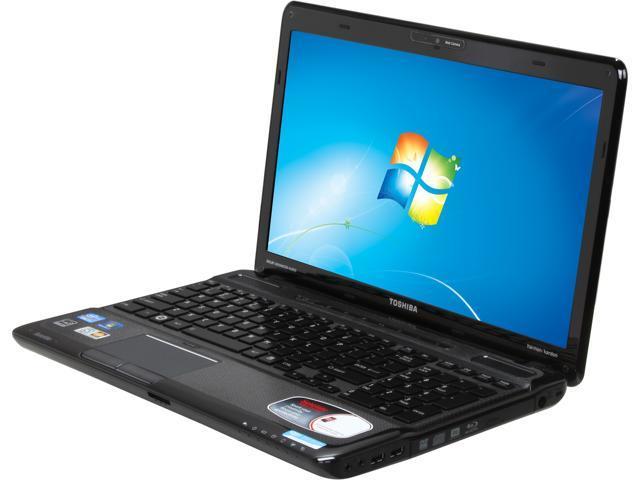 "TOSHIBA Laptop A665-S5184 Intel Core i7 2630QM (2.00 GHz) 6 GB Memory 500 GB HDD Intel HD Graphics 3000 15.6"" Windows 7 Home ..."