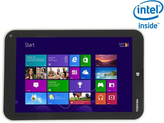 "TOSHIBA Encore WT8-A32 Intel Atom Z3740 2GB Memory 32GB eMMC 8.0"" Touchscreen Tablet Windows 8.1"