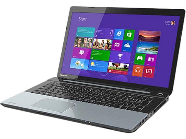 "TOSHIBA Laptop Satellite S75-A7221 Intel Core i7 4700MQ (2.40 GHz) 16 GB Memory 1 TB HDD Intel HD Graphics 4600 17.3"" Windows ..."