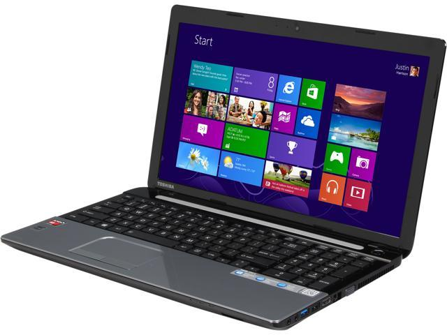 TOSHIBA Laptop Satellite C55D-A5362 AMD A6-Series A6-5200 (2.00 GHz) 6 GB Memory 750 GB HDD AMD Radeon HD 8400 15.6