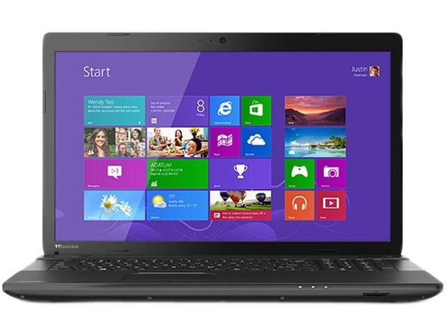 TOSHIBA Laptop Satellite C75D-A7370 AMD A6-Series A6-5200 (2.00 GHz) 8 GB Memory 750 GB HDD AMD Radeon HD 8400 17.3