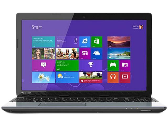 TOSHIBA Laptop Satellite S55-A5364 Intel Core i7 4700MQ (2.40 GHz) 8 GB Memory 750 GB HDD Intel HD Graphics 4600 15.6