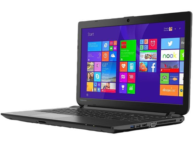 "TOSHIBA Satellite C55-B5298 15.6"" Windows 8.1 with Bing Laptop"