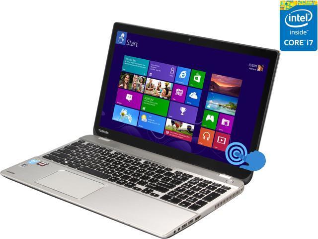 TOSHIBA Laptop Satellite P55T-B5262 Intel Core i7 4710HQ (2.50 GHz) 12 GB Memory 1 TB HDD AMD Radeon R9 M265X 15.6