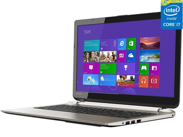 TOSHIBA Laptop Satellite S55-B5266 Intel Core i7 4510U (2.00 GHz) 8 GB Memory 1 TB HDD AMD Radeon R7 M260 15.6