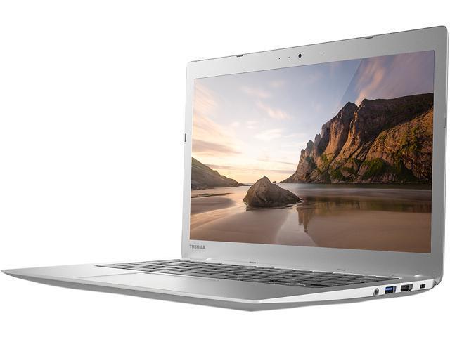 TOSHIBA CB35-B3330 Chromebook Intel Celeron N2840 (2.16GHz) 2GB Memory 16GB SSD 13.3