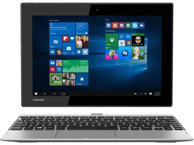 "TOSHIBA Satellite Click 10 LX0W-C32 2-in-1 Tablet Intel Atom x5-Z8300 (1.44 GHz) 32 GB SSD Intel HD Graphics Shared memory 10.1"" Touchscreen Windows 10 Home"
