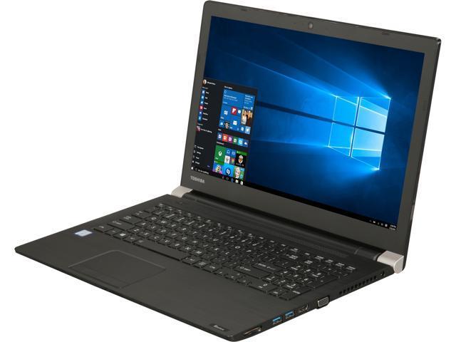 "TOSHIBA Laptop Tecra A50-01R01S Intel Core i7 7th Gen 7500U (2.70 GHz) 4 GB Memory 1 TB HDD Intel HD Graphics 620 15.6"" Windows 10 Pro 64-Bit"
