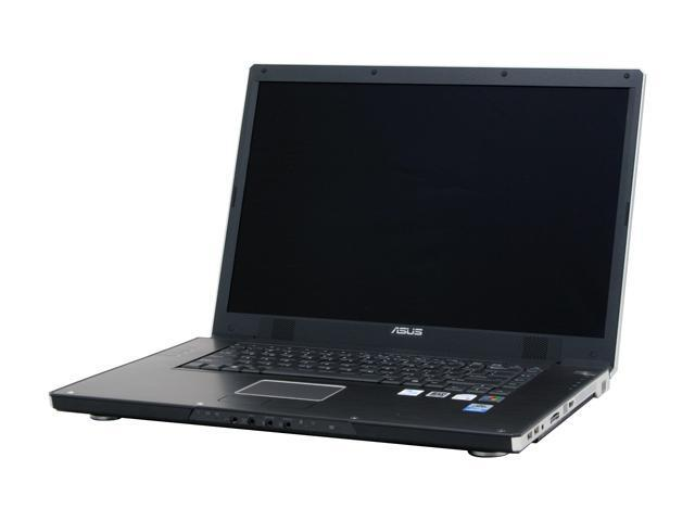 "ASUS W2 Series W2Jb-Y007M NoteBook Intel Core Duo T2500(2.00GHz) 17.0"" Wide XGA+ 1GB Memory DDR2 667 100GB HDD 5400rpm Dual layer DVD Burner ATI Mobility Radeon X1600"