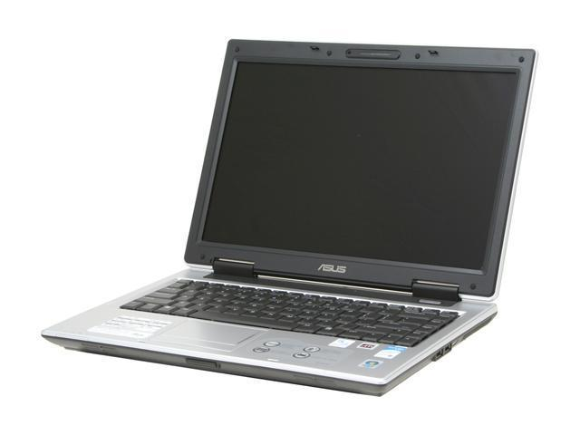"ASUS A8 Series A8JR-4P021C NoteBook Intel Core 2 Duo T5500(1.66GHz) 14"" Wide XGA 1GB Memory DDR2 667 120GB HDD 5400rpm DVD Super Multi ATI Mobility Radeon X2300"