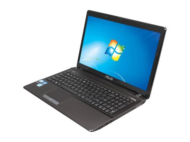 ASUS Laptop K53 Series K53E-BBR17 Intel Core i5 2nd Gen 2450M (2.50 GHz) 4 GB Memory 500 GB HDD Intel HD Graphics 3000 15.6