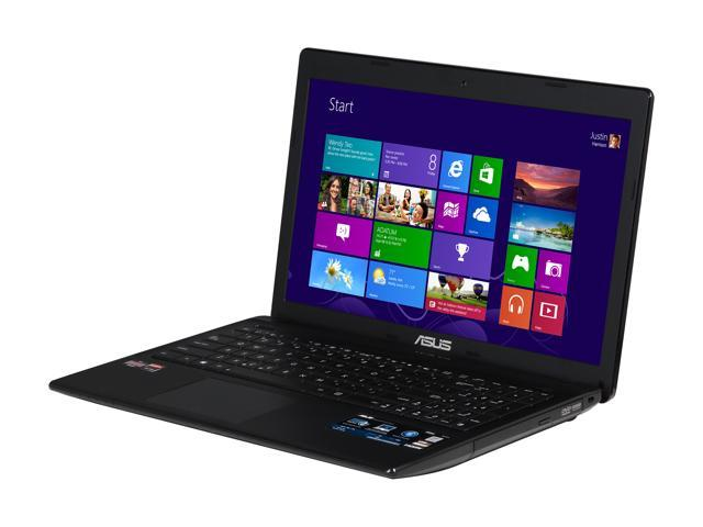 ASUS Laptop F55U-NH21 AMD Dual-Core Processor E2-1800 (1.7 GHz) 4 GB Memory 320 GB HDD AMD Radeon HD 7340 15.6