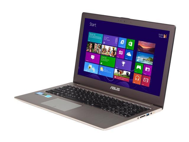 "ASUS UX51Vz-XH71 Intel Core i7 8GB DDR3 Memory 512 GB SSD 15.6"" Ultrabook Windows 8 Pro 64-Bit"