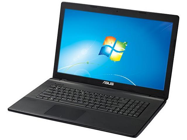 "ASUS X75A-XH51 Intel Core i5-3210M 2.5GHz 17.3"" Windows 7 Professional 64-Bit Notebook"