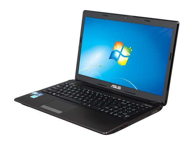 ASUS Notebook, B Grade, Scratch and Dent K53 Series K53E-BBR17 Intel Core i5 2450M (2.50 GHz) 4 GB Memory 500 GB HDD Intel HD Graphics 3000 15.6