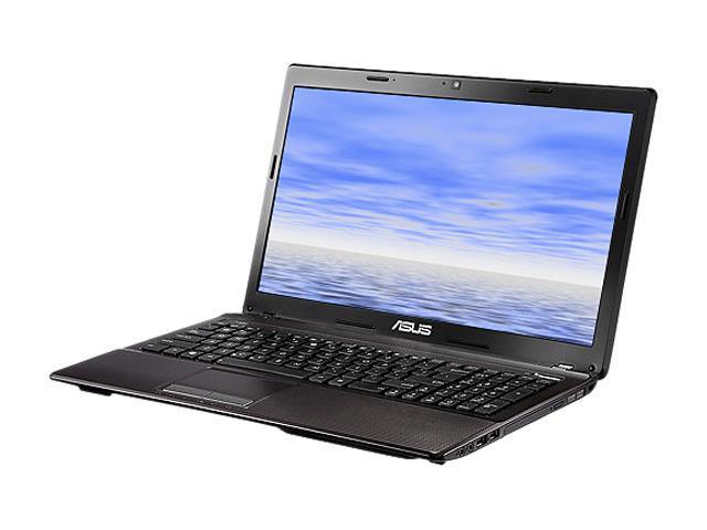 "ASUS Laptop K53E-BBR19-B Intel Core i5 2450M (2.50 GHz) 4 GB Memory 500 GB HDD Intel HD Graphics 3000 15.6"" Windows 7 Home ..."