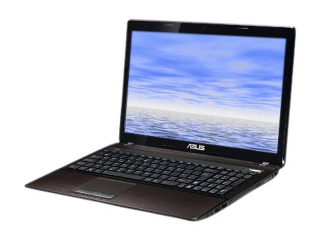 ASUS Notebook, Grade B K53 Series K53ERF-RBR5-B Intel Core i3 2350M (2.30 GHz) 4 GB Memory 750 GB HDD Intel HD Graphics 3000 ...