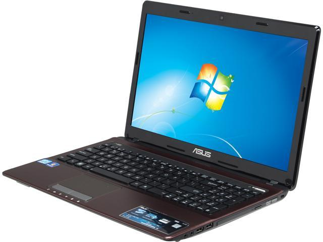 "ASUS Laptop X53E-RS52 Intel Core i5 2450M (2.50 GHz) 6 GB Memory 750 GB HDD Intel HD Graphics 3000 15.6"" Windows 7 Home Premium ..."