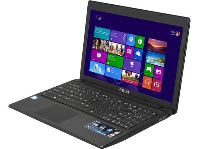 ASUS Laptop X55A-DS91 Intel Pentium 2020M (2.40 GHz) 4 GB Memory 500 GB HDD Intel HD Graphics 15.6