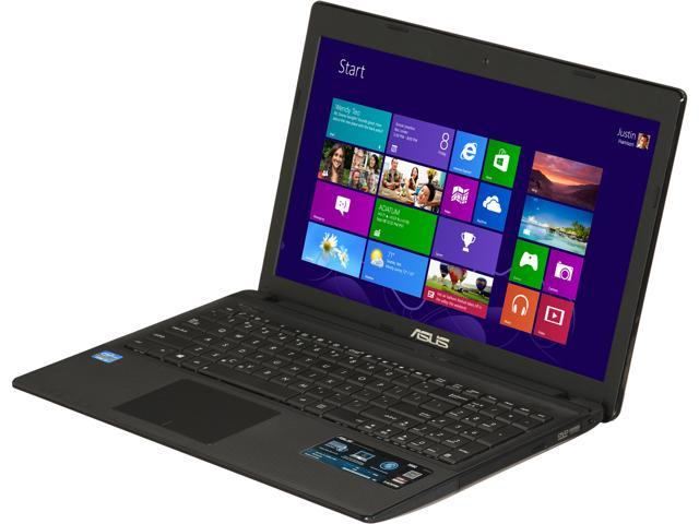 ASUS Laptop X55C-DS31 Intel Core i3 2370M (2.40 GHz) 4 GB Memory 500 GB HDD Intel HD Graphics 3000 15.6