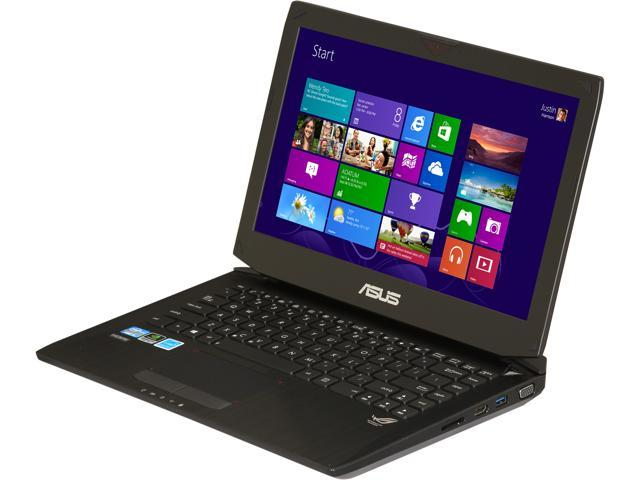 "ASUS Laptop G46VW-BHI5N43 Intel Core i5 3210M (2.50 GHz) 8 GB Memory 750 GB HDD NVIDIA GeForce GTX 660M 14.0"" Windows 8 64-Bit"
